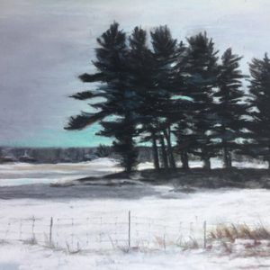 Eastern Townships Winter Scene