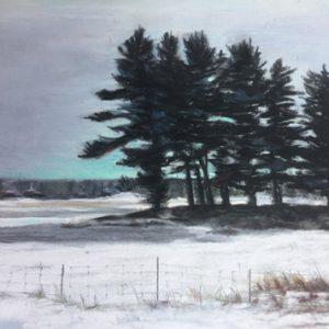 Eastern Townships Winter Scene