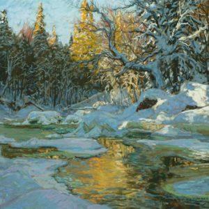 Rivière cachée, Parc de la Jacques-Cartier, Québec
