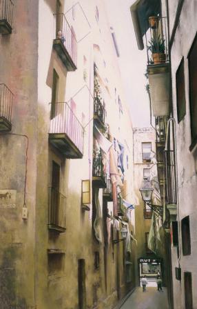 Ruelle à Barcelone
