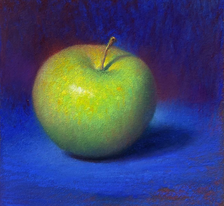 Détails, texture et subtilités finale-pastel pomme.