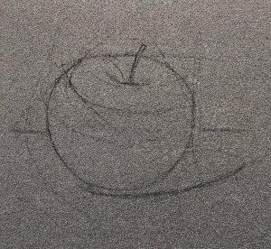 dessin pomme.