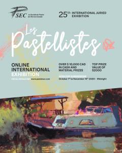 Exhibition Les pastellistes.