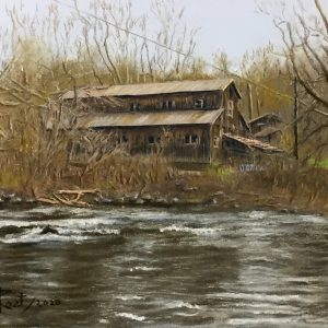The Haines Mill Ruins in Cheltenham 8″ x 10″