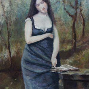 Ce tableau de Corot m'enchante et c'est pourquoi j'en ai fait une citation.