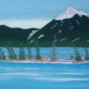 Rivière glacée parc de Jasper – Alberta