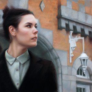 Alex Kasyan pastel painting