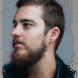 Alex Kasyan, Portrait of Pavel Sokov