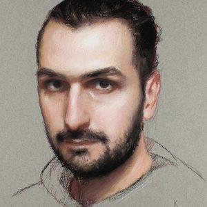 Self Portrait of Alex Kasyan