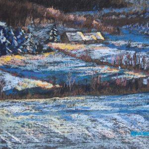 Winter's gold, série Concerto en bleu